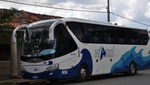 Tourist Viazul bus, Cuba