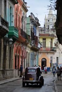 Ulice Havana Vieja